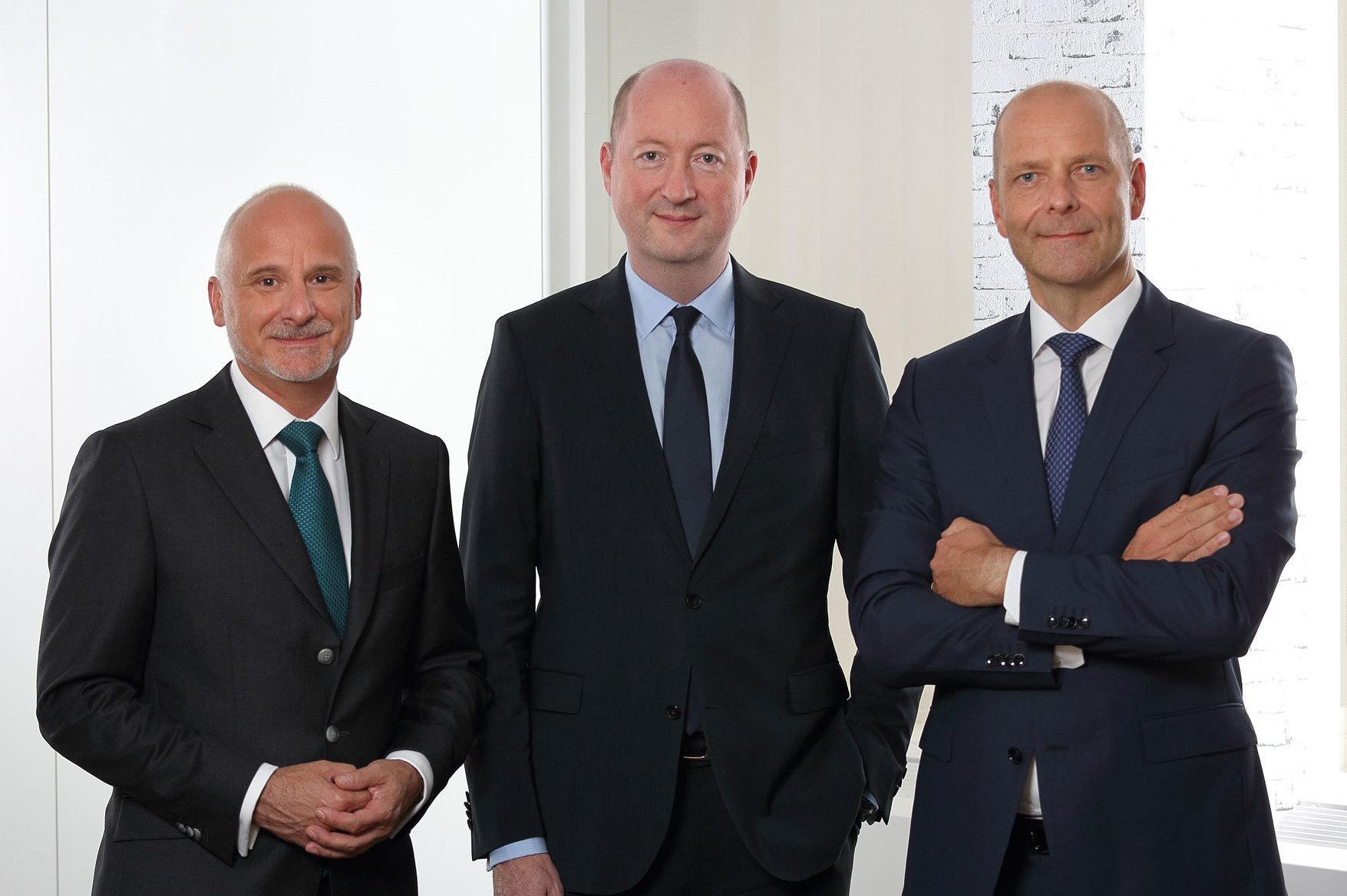 Rainer Herr, Hansjoerg Patzschke and Dirk Brandes,